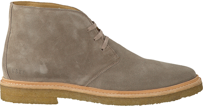 Taupe NUBIKK Veterschoenen LOGAN DESERT MEN  - large