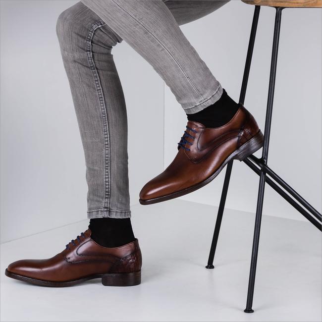 Bruine BRAEND Nette schoenen 16318  - large