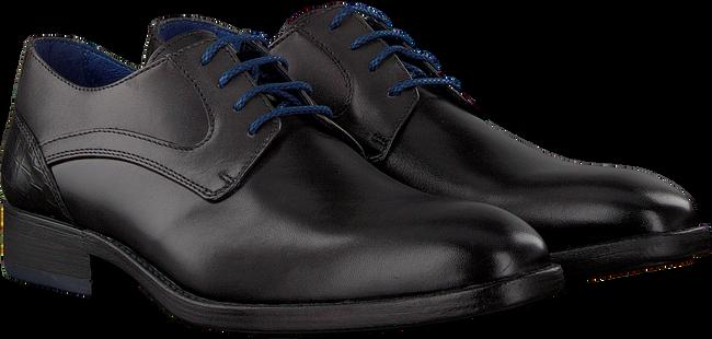 Zwarte BRAEND Nette schoenen 16318  - large
