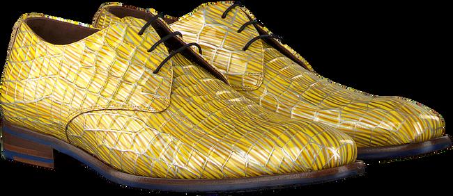 Gele FLORIS VAN BOMMEL Nette schoenen 14104 - large