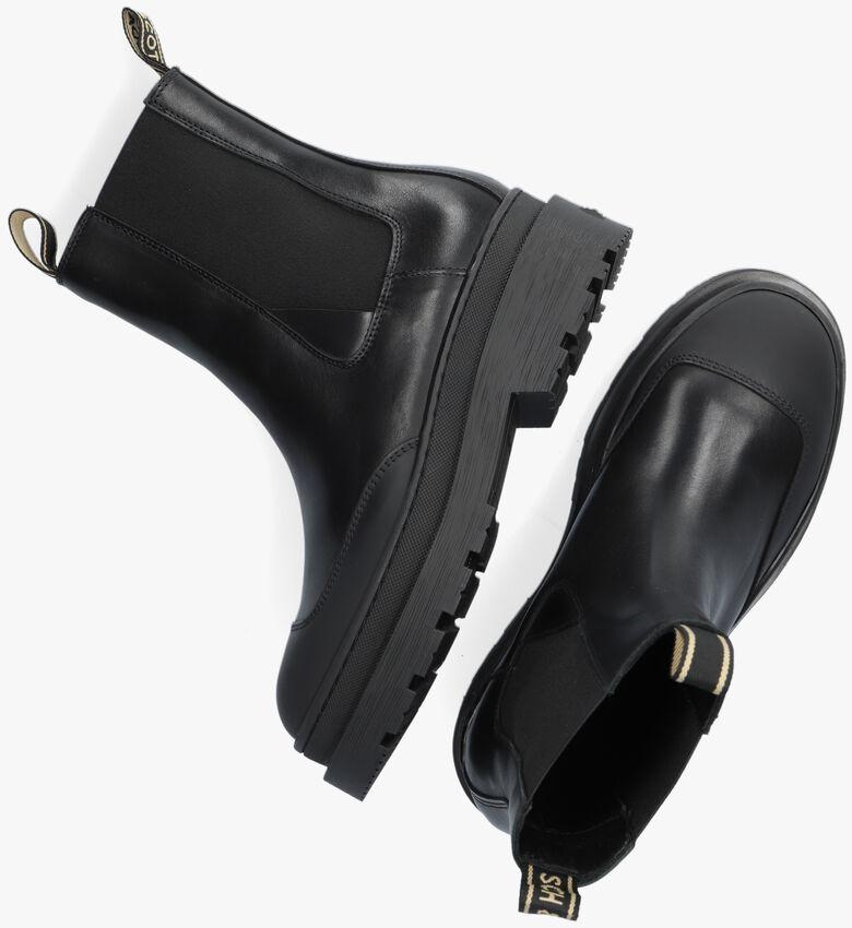 Zwarte SCOTCH & SODA Chelsea boots AUBRI BOOT  - larger