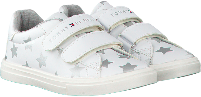 Witte TOMMY HILFIGER Sneakers T1A4-00152  - large