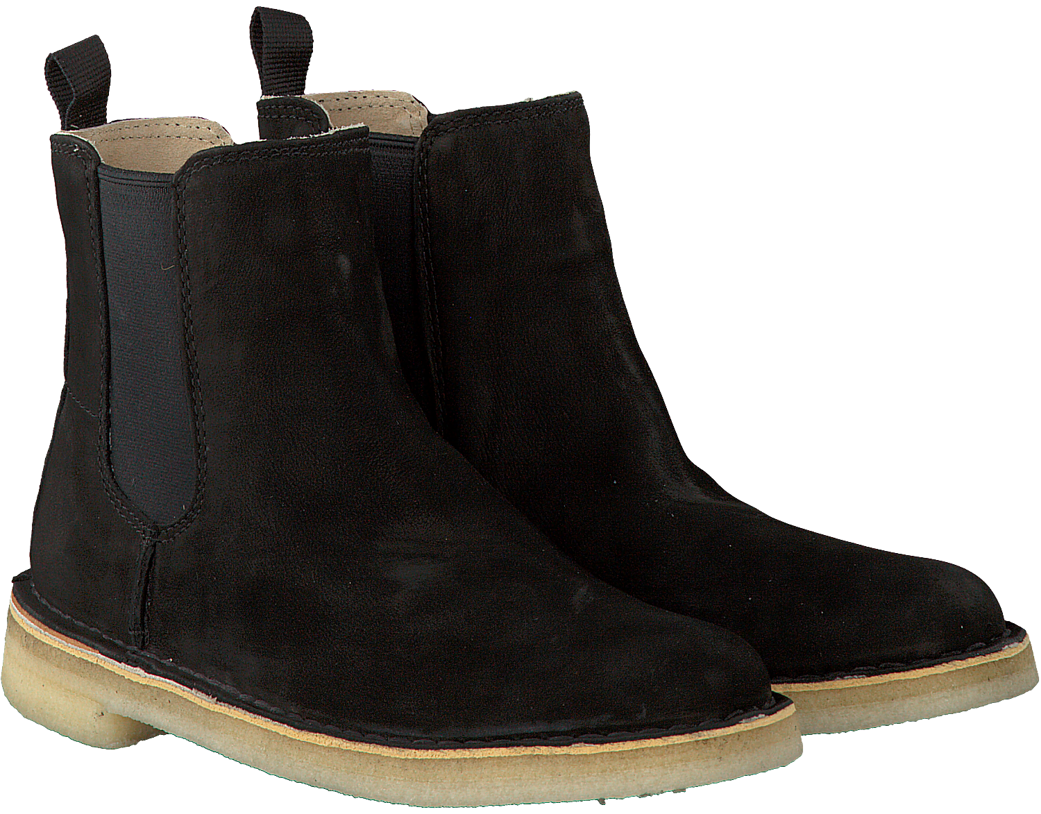 new high large discount top quality Zwarte CLARKS Chelsea boots DESERT PEAK
