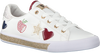Witte GUESS Sneakers FLMEM1 ELE12S - small