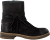 Zwarte GIGA Lange laarzen 8694  - small