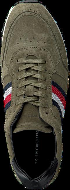 Groene TOMMY HILFIGER Sneakers LUXERY SUEDE RUNNER  - large