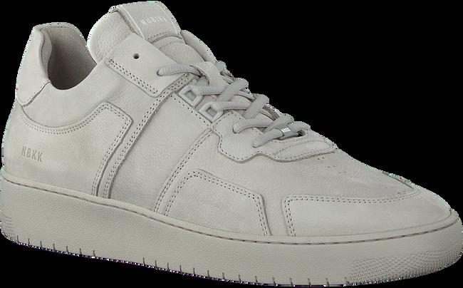 Grijze NUBIKK Lage sneakers YUCCA CANE MEN - large