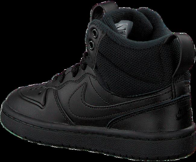 Zwarte NIKE Sneakers COURT BOROUGH MID KIDS  - large