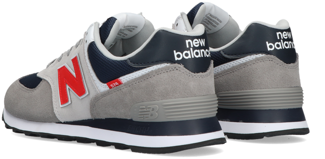 Grijze NEW BALANCE Lage sneakers ML574  - large