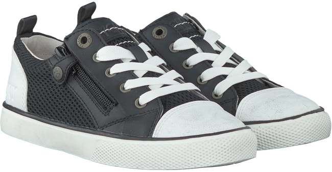 Zwarte YELLOW CAB Sneakers PISA VETER  - large