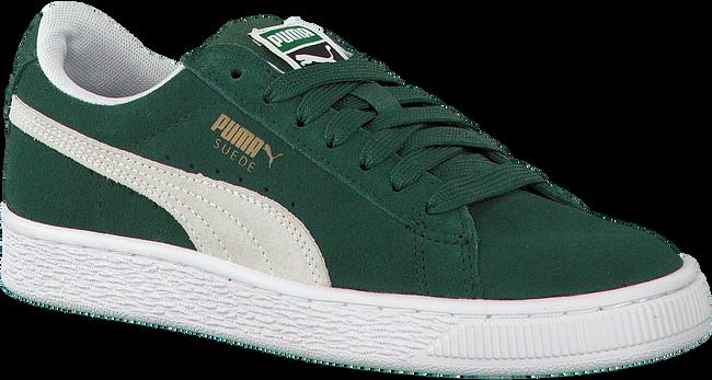 Groene PUMA Sneakers SUEDE CLASSIC JR - large