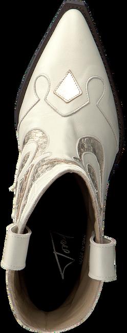 Witte TORAL Enkellaarsjes 12365  - large