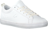 Witte LACOSTE Lage sneakers STRAIGHTSET 120 - small