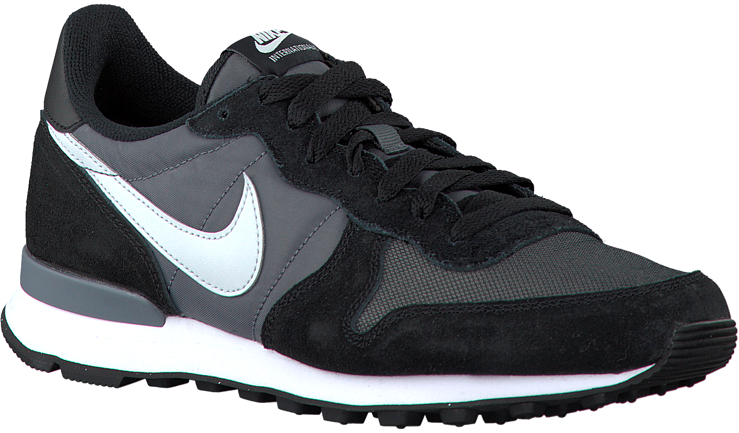 nike internationalist heren grijs