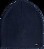 Blauwe TOMMY HILFIGER  Muts FLAG KNIT BEANIE  - small