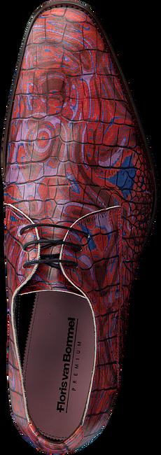 Rode FLORIS VAN BOMMEL Nette schoenen 14267 - large