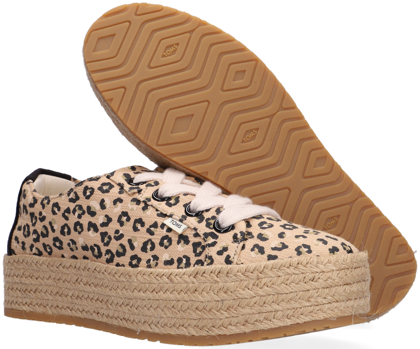 Beige TOMS Lage sneakers CASSIAH  - larger