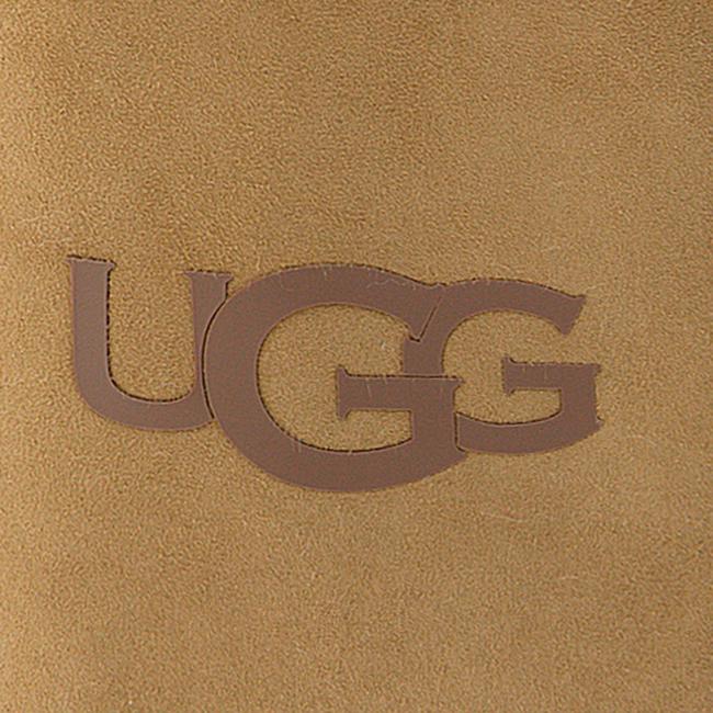 Camel UGG Handschoenen SHEEPSKIN LOGO MITTEN  - large