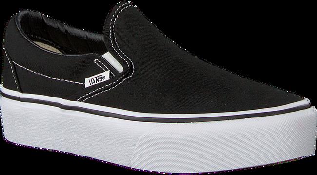 Zwarte VANS Sneakers CLASSIC SLIP-ON PLATFORM - large