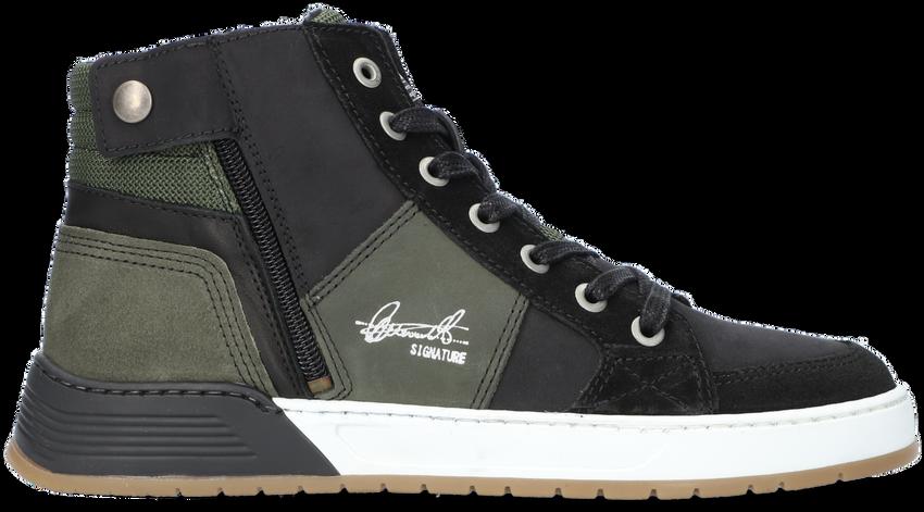 Groene BULLBOXER Hoge sneaker AOF504  - larger