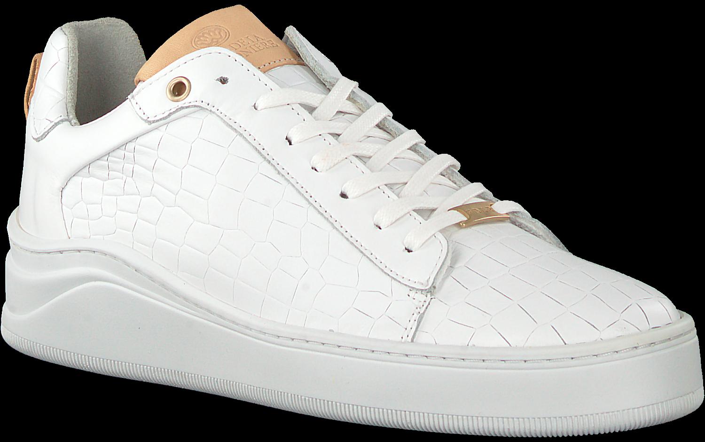 Witte FRED DE LA BRETONIERE Lage sneakers 101010125