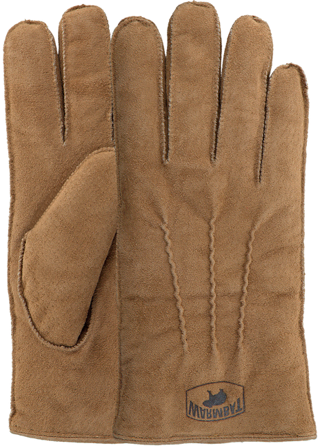 Bruine WARMBAT Handschoenen GLOVES MEN  - large