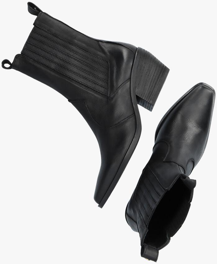 Zwarte NOTRE-V Enkellaarsjes AL335  - larger