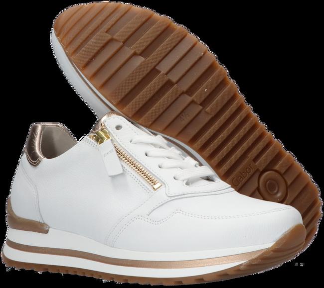 Witte GABOR Lage sneakers 528  - large