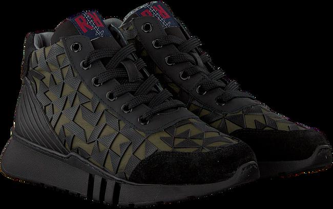 Groene RED-RAG Sneakers 13375  - large