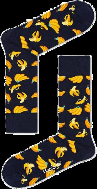 Zwarte HAPPY SOCKS Sokken BANANA  - large