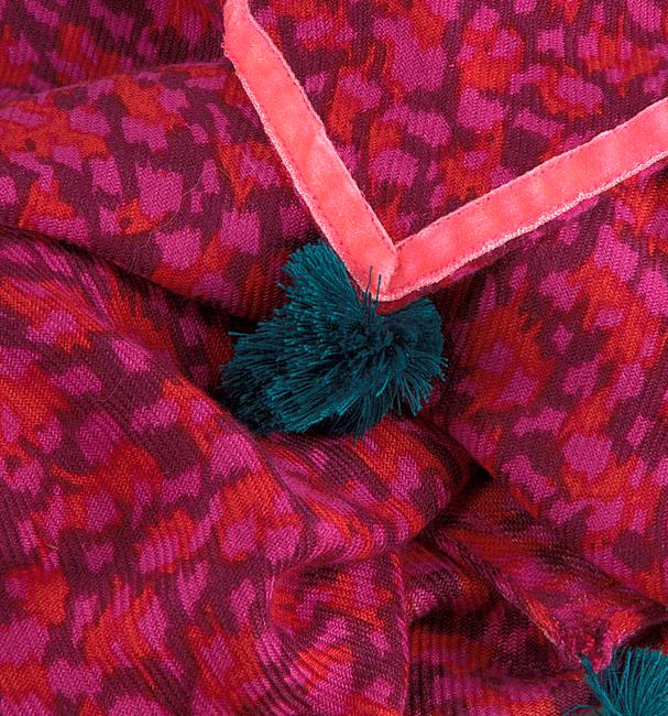 Roze LE BIG Sjaal PETRA SCARF  - large