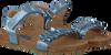Blauwe CLIC! Sandalen 8969 - small