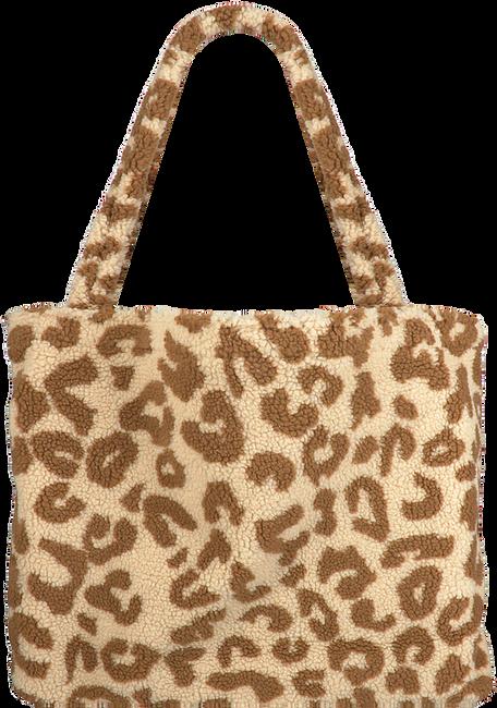 Beige STUDIO NOOS Shopper TEDDY LEOPARD MOM-BAG  - large