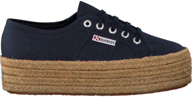 Blauwe SUPERGA Sneakers 2790 COTEROPEW  - large