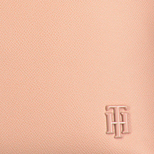 Roze TOMMY HILFIGER Shopper SAFFIANO TOTE  - large