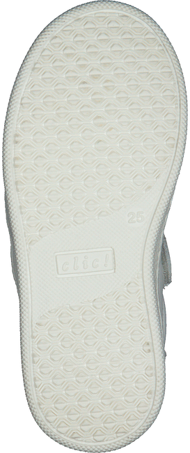 Witte CLIC! Lage sneakers CL-9756  - large