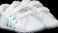 Witte ADIDAS Babyschoenen SUPERSTAR CRIB  - medium