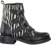 Zwarte PS POELMAN Biker boots P14317POE  - small