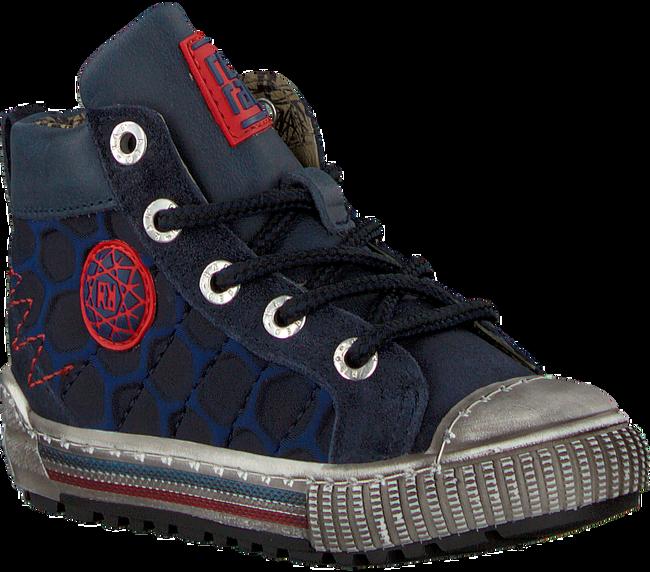 Blauwe RED-RAG Sneakers 13227 - large