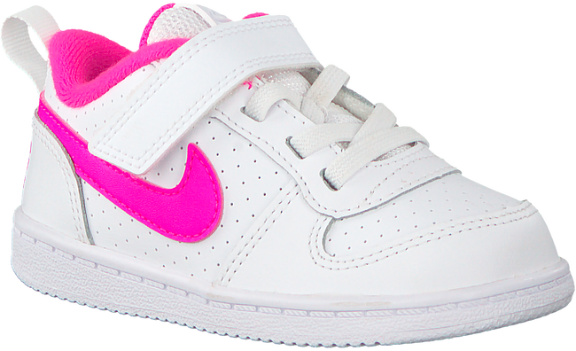 Witte NIKE Sneakers COURT BOROUGH LOW (KIDS) - large