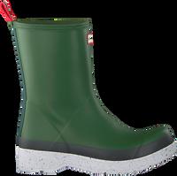Groene HUNTER Regenlaarzen PLAY MID BOOT SPECKLE - medium