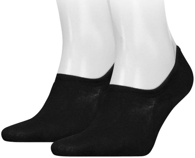 Zwarte TOMMY HILFIGER Sokken TH MEN FOOTIE - large