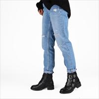 Zwarte OMODA Biker boots R15778 - medium