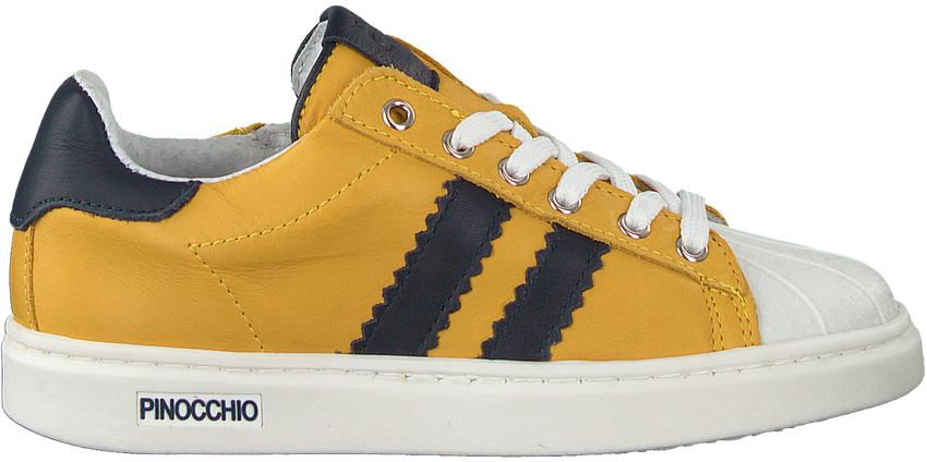 Gele PINOCCHIO Lage sneakers P1834  - larger