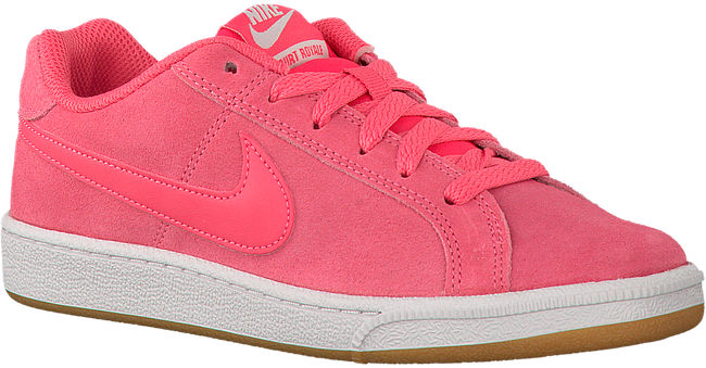 Roze NIKE Sneakers COURT ROYALE SUEDE WMNS  - large