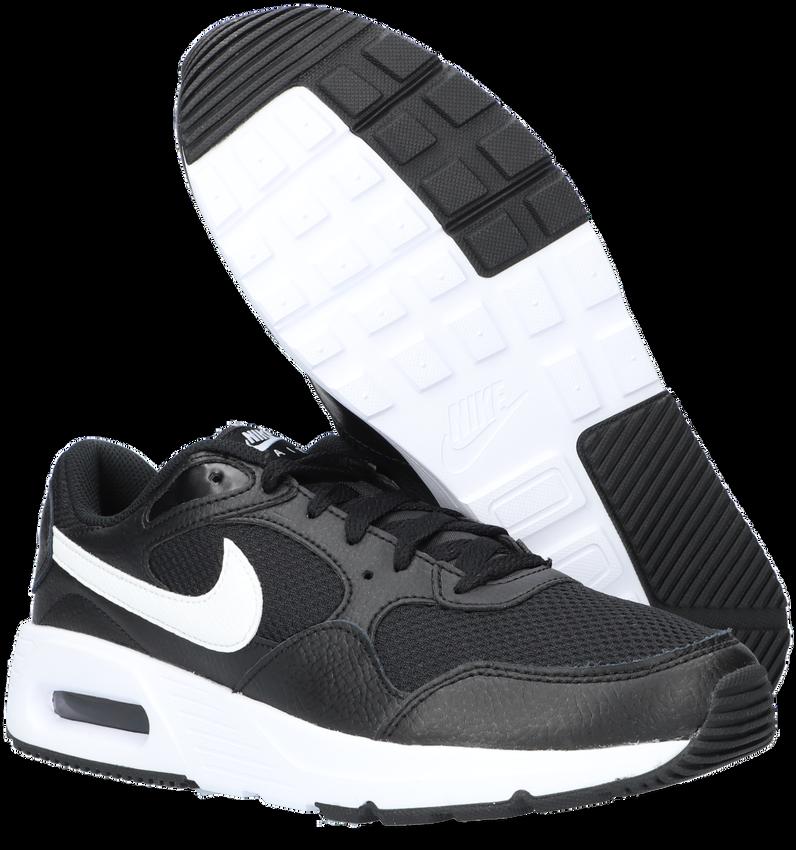 Zwarte NIKE Lage sneakers AIR MAX SC  - larger