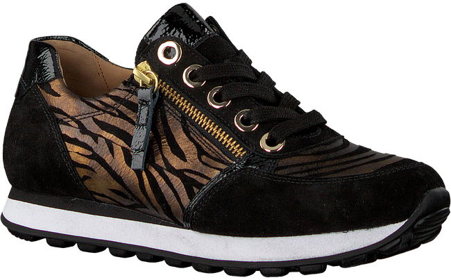 Zwarte GABOR Lage sneakers 035  - large