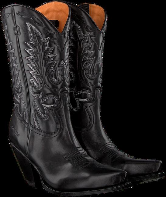 Zwarte SENDRA Cowboylaarzen 15838 - large