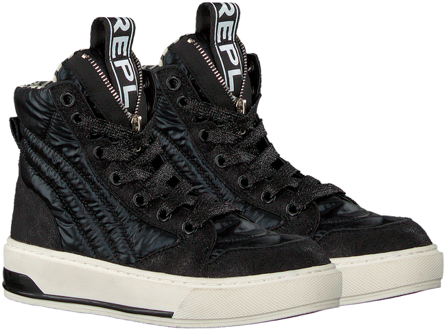 Zwarte REPLAY Hoge sneakers GLORY  - large