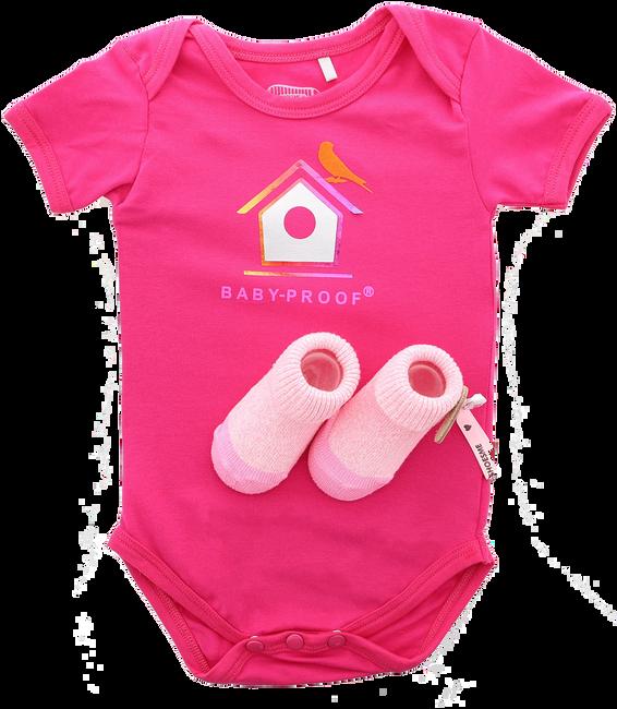 Roze SHOESME Babyschoenen ROMPER  - large